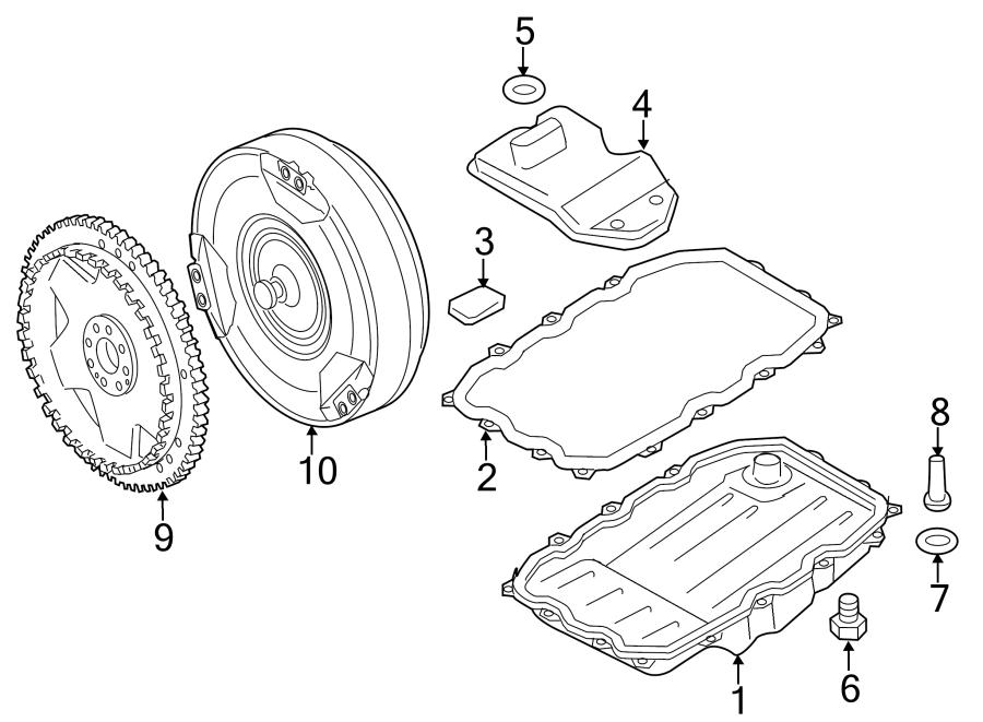 Porsche Cayenne Oil strainer. TRANSAXLE, Torque