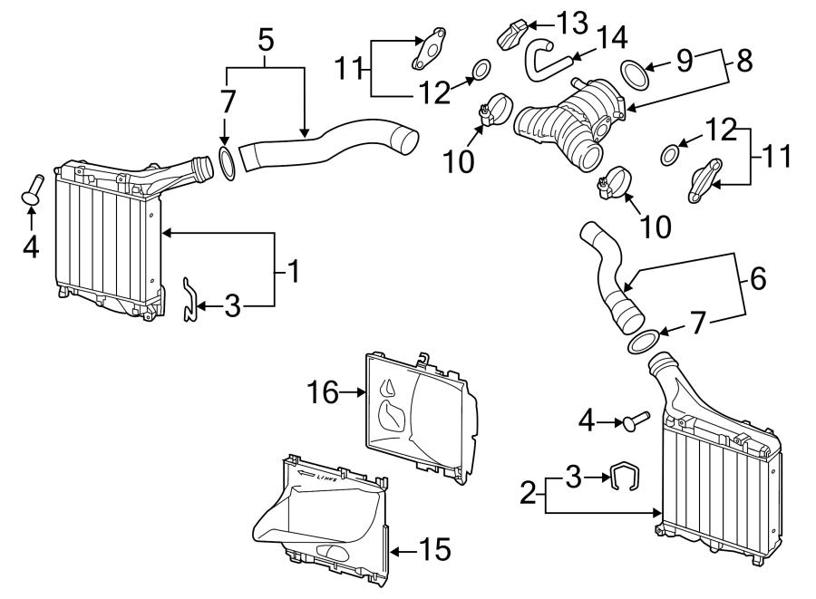 Porsche Cayenne Vacuum hose intake p. Intercooler