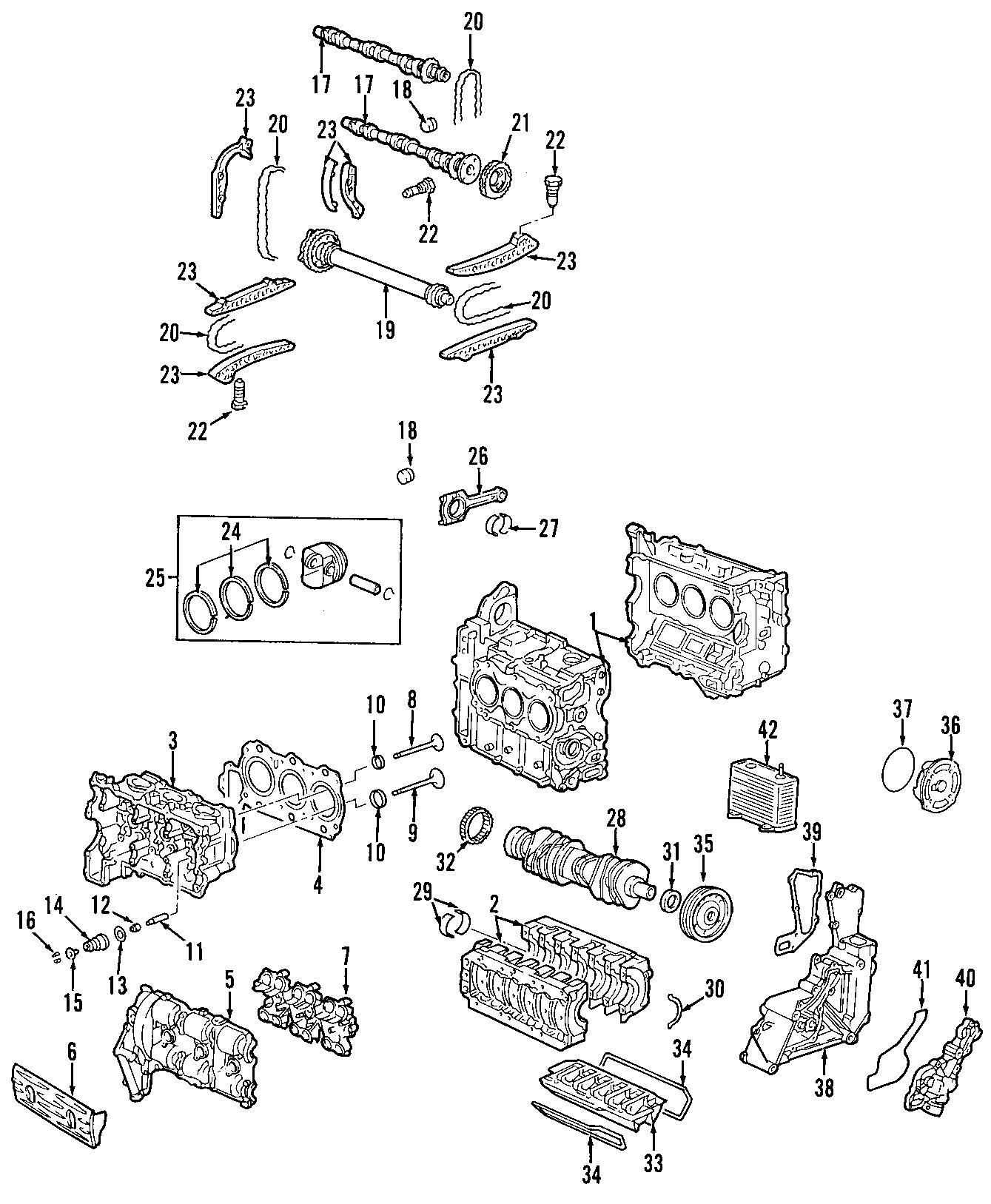 Porsche Boxster Engine Timing Chain Tensioner Cam