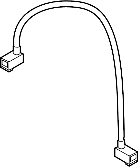 Porsche Boxster Radio Wiring Harness. 2011-16, to IP