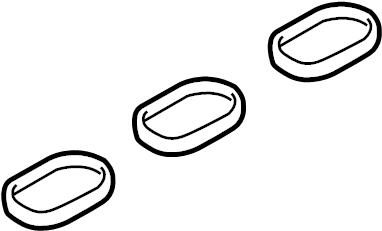 2014 Porsche Cayenne Gasket. INTAKE. Manifold. Cayenne