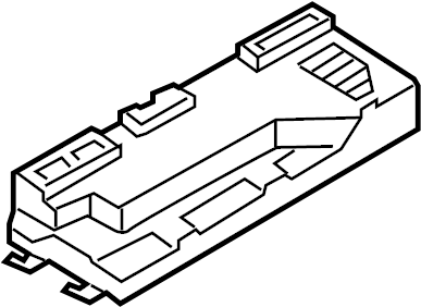 Porsche Boxster Convertible Top Control Unit. Boxster