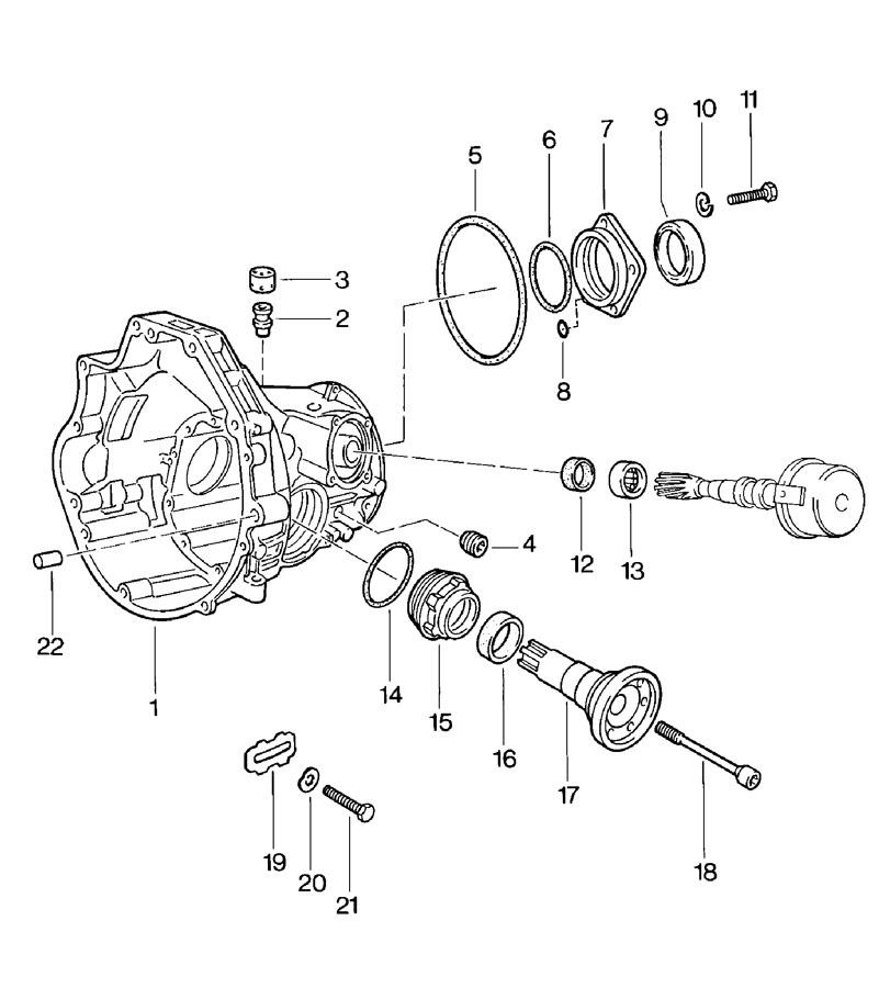1980 Porsche 924 radial shaft seal. Classification