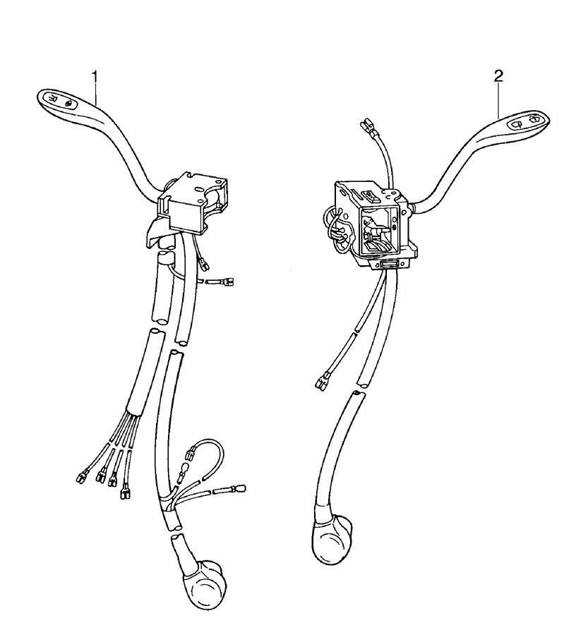 Porsche 911 Combination Switch. BMultiFunction