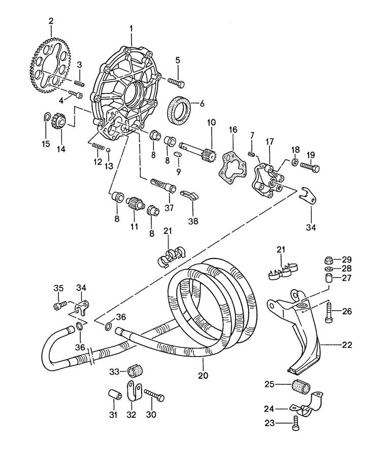 1990 Porsche 944 radial shaft seal. Classification