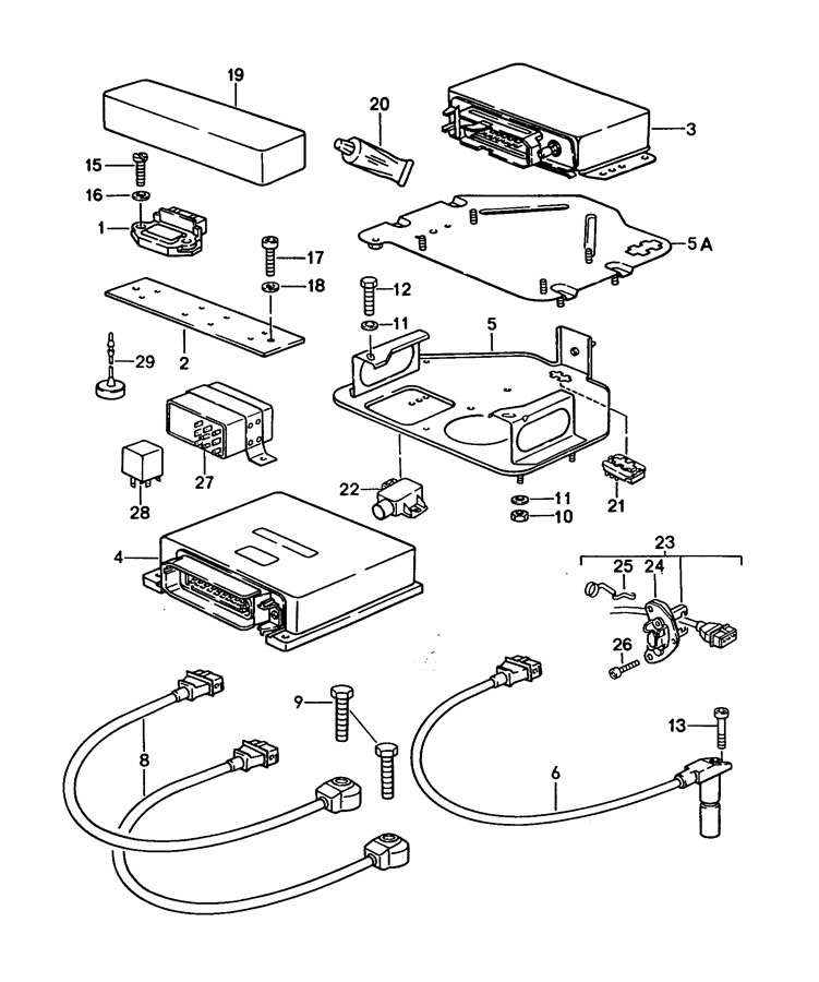 Porsche 928 Engine Crankshaft Position Sensor