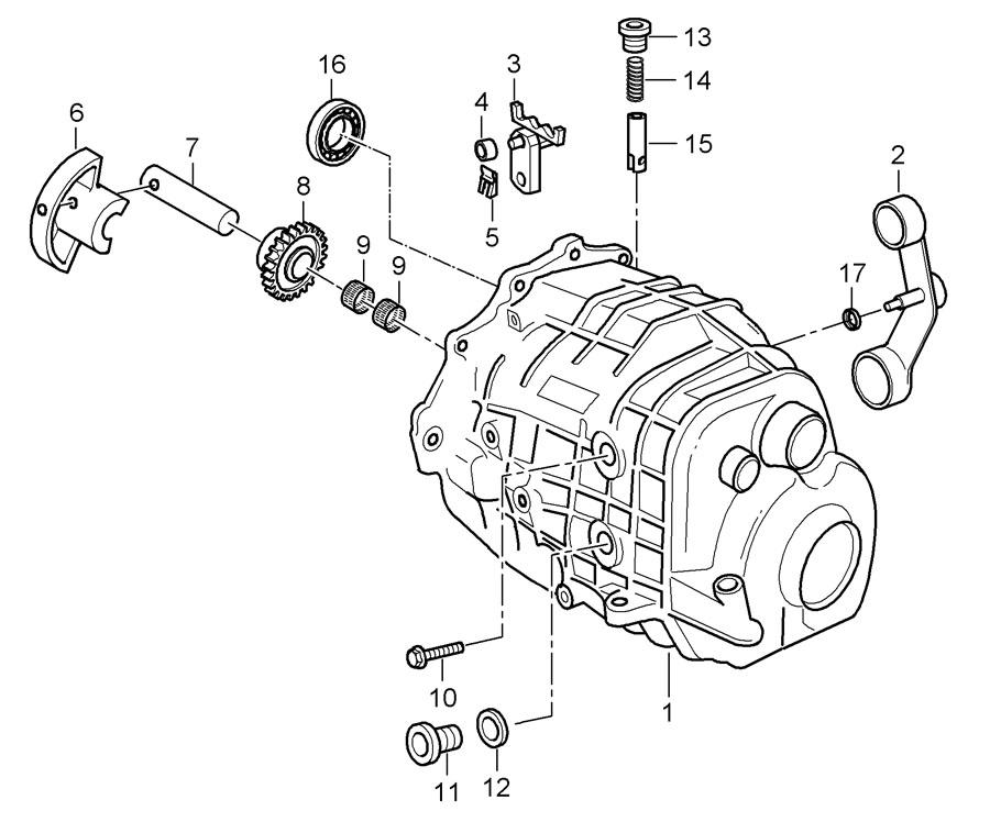 Porsche Boxster Manual Transmission Shift Linkage Seal