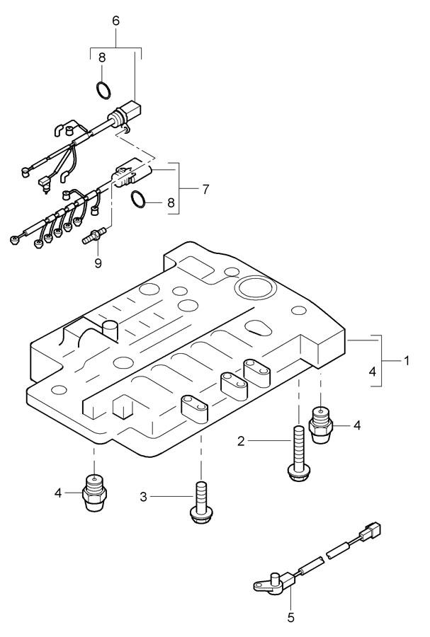 Porsche tiptronic switch unit