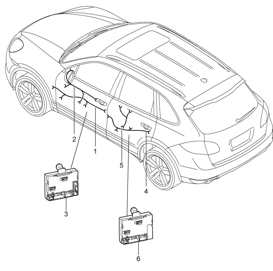 [DIAGRAM] Porsche Cayenne S 2004 Wiring Diagram FULL