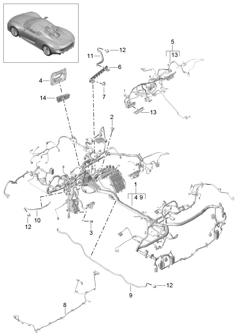 Porsche 918 Engine Diagram