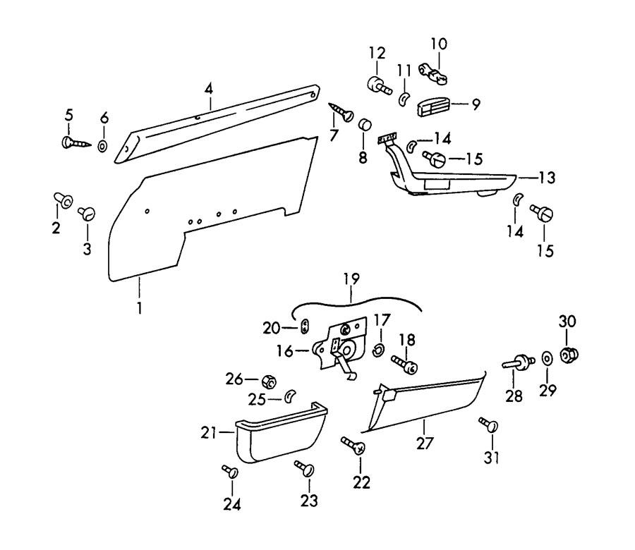 Porsche 912 Oval-head sheetmetal screw. LENS-HD. SHEET
