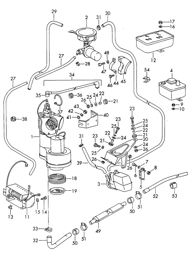 Porsche 911 Ignition lead high voltage. IGNITION CABLE