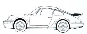 Porsche 911 Turbo (964) del 1991-1993