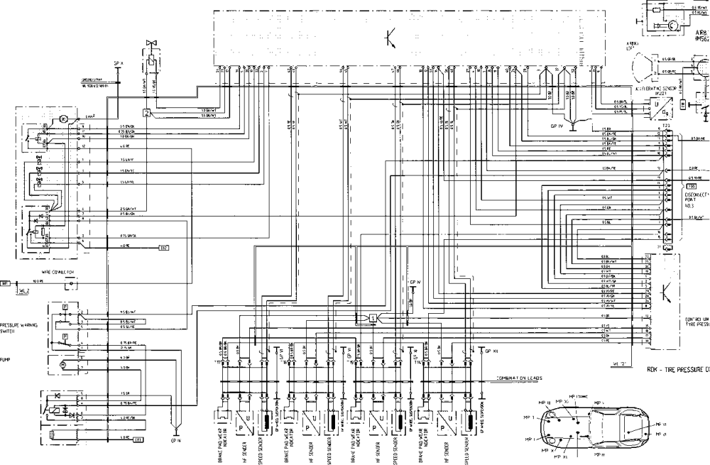 medium resolution of porsche 964 abs wiring diagram wire diagram porsche 964 abs wiring diagram porsche 964 abs wiring