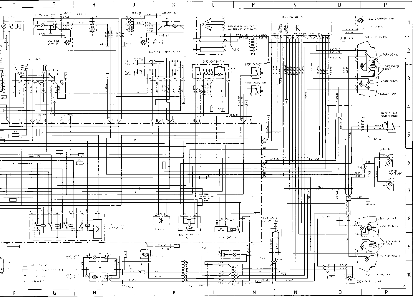 Porsche 911 Wiring Diagrams