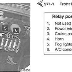 Porsche 996 Wiring Diagram 2001 Iphone 4 Parts Electrical Component Locations 911 1984 1989 Relay List