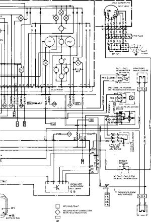 Wiring Diagram Type 944944 turbo Model 852 page  Porsche