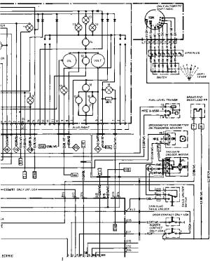 Wiring Diagram Type 944944 turbo Model 852 page 4