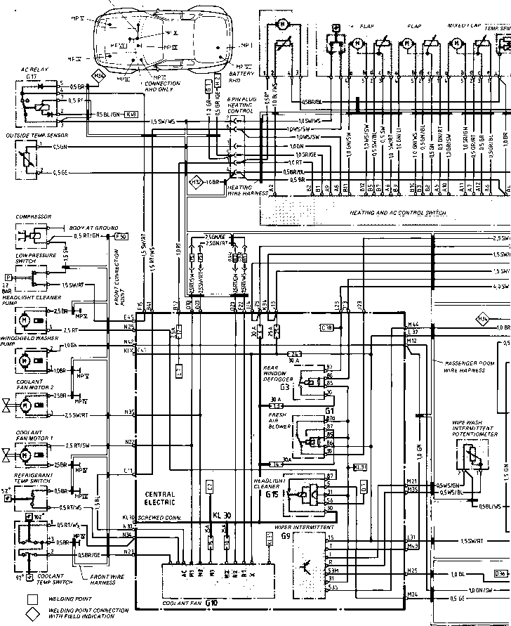[DIAGRAM] Porsche 944 Wiring Diagram Radio FULL Version HD