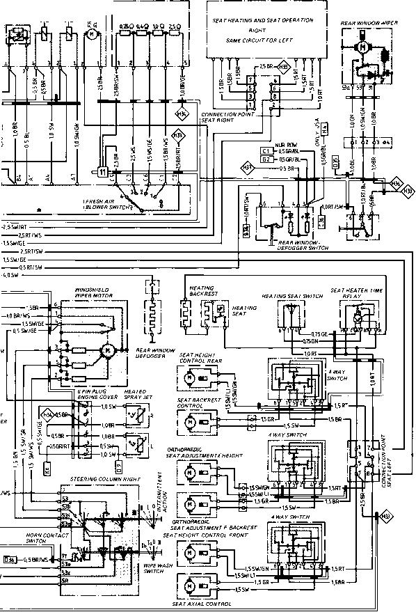 Ac Plug Wiring Diagram Wiring Diagram Type 944944 Turbo Model 852 Page Porsche
