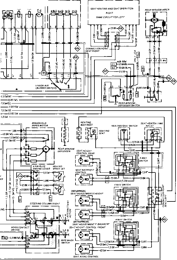 24 volt battery system diagram single phase run capacitor wiring type 944944 turbo model 852 page - porsche 944 electrics