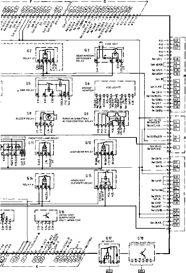 porsche 944 fuse box diagram ford wiring for trailer plug type 944944 turbo model 852 page - electrics