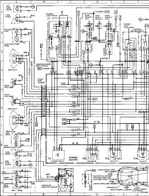 Diagram Type 944944 turbo  Porsche 944 Electrics