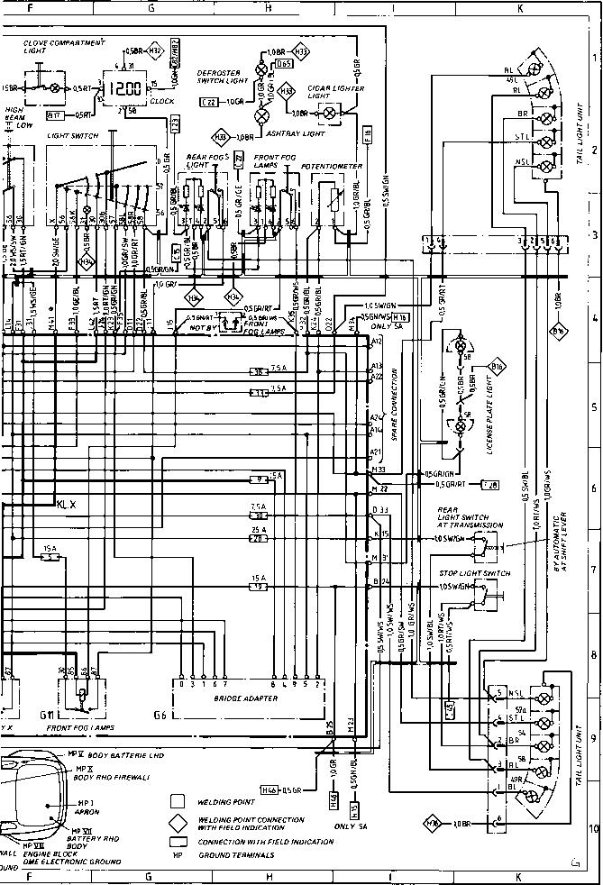 Porsche 944 Wiring Diagram Lights : 33 Wiring Diagram