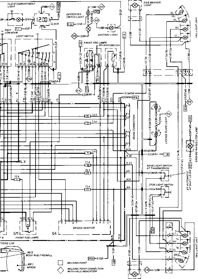 1984 porsche 944 fuse box diagram