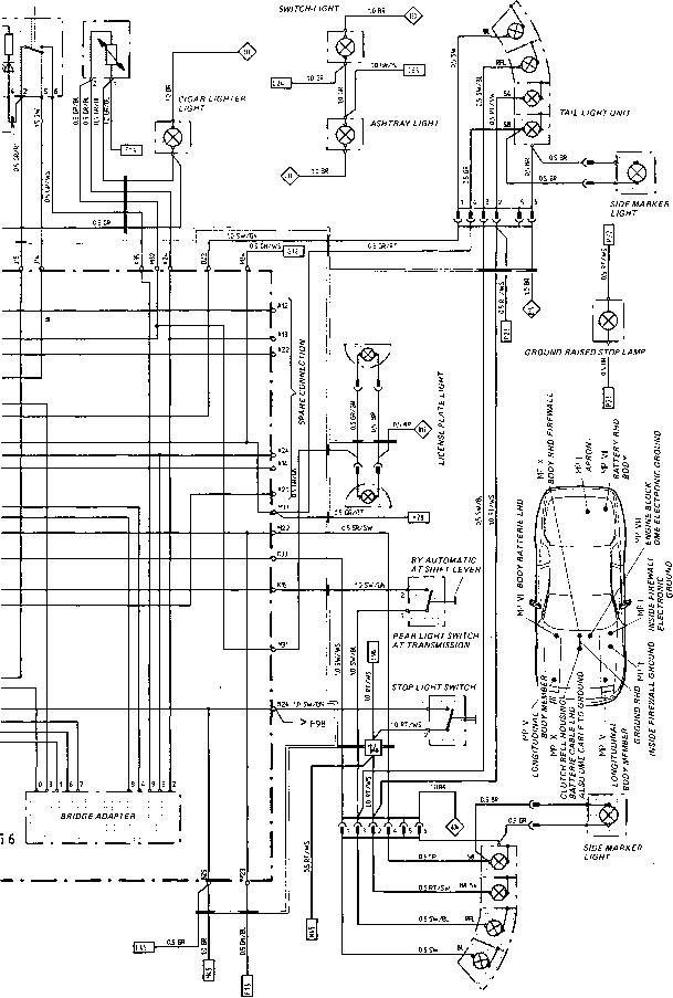 porsche 944 headlight wiring diagram
