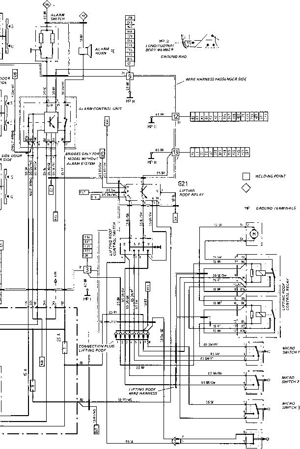 wiring diagram 1983 porsche 944  schematic wiring diagram