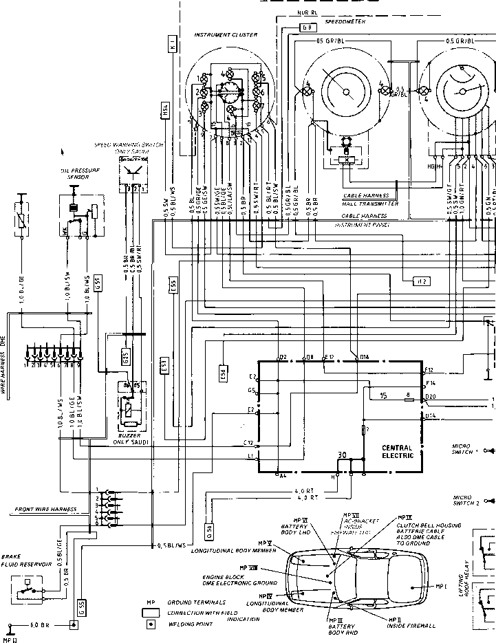 porsche 944 radio wiring diagram 3 pole abs auto electrical