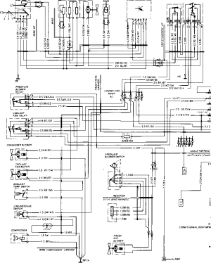 Wiring Diagram Type 924 S Model 86 Sheet  Porsche 944 Electrics