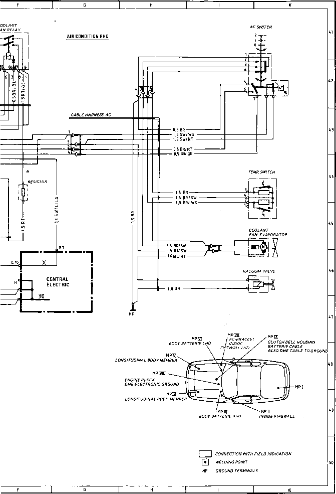 1983 Porsche 944 Alternator Wiring Diagram. Porsche. Auto