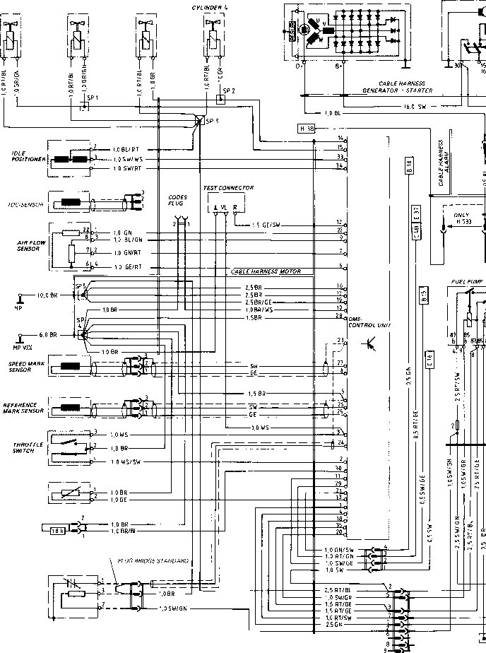 Wiring Diagrams For 86 Porsche 944. Porsche. Auto Wiring