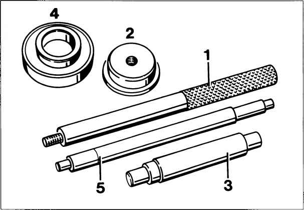 Disassembling and assembling transmission case Tools