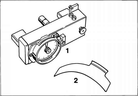 Checking and adjusting balance shaft toothed belt tension
