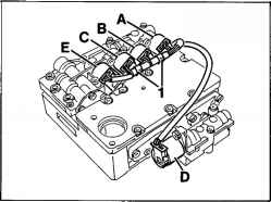 Removing and installing transmission wiring harness