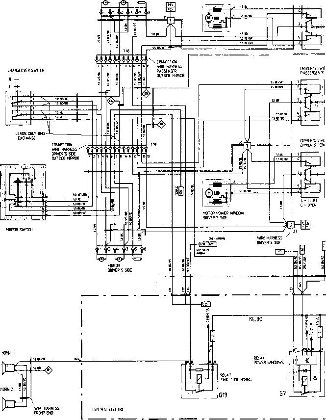 [DIAGRAM] Porsche 944 Power Window Wiring Diagram FULL