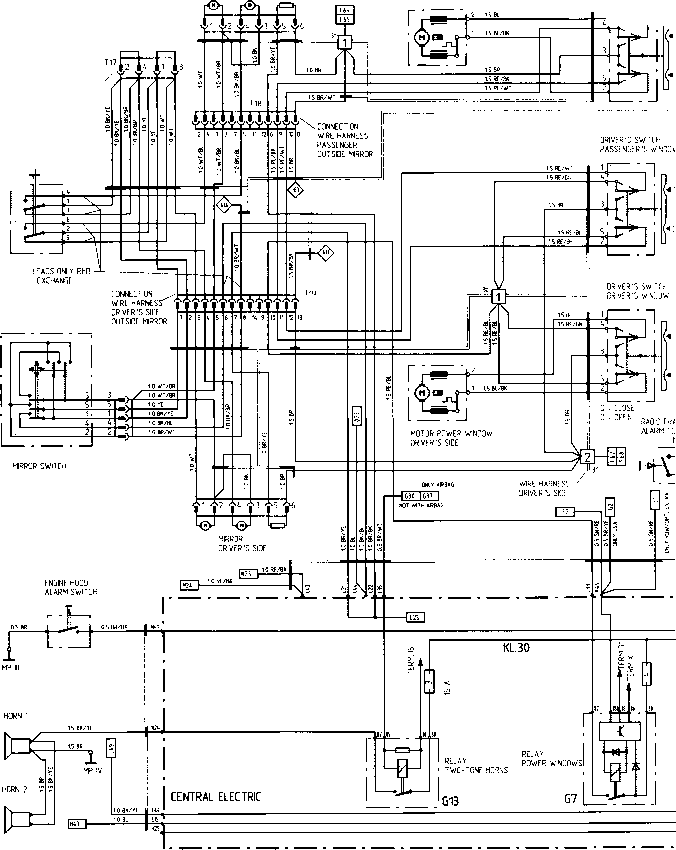 Wiring Diagram Type 944944 turbo 944 S Model 88 pi