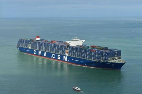 Båt från CAM CGM