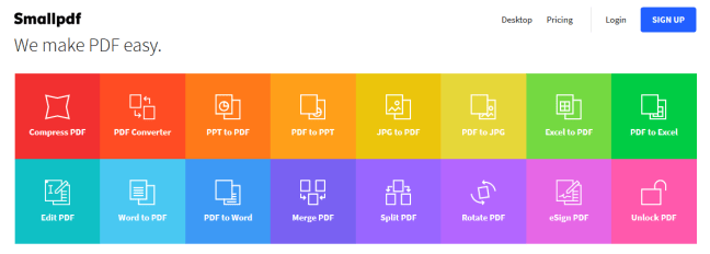 How to merge, split, convert, and edit PDF files online for