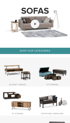 Simpli Home Shopify Plus Design
