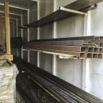 rack system installed 2