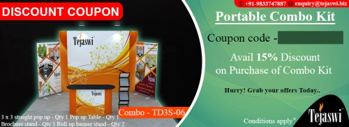 Portable Exhibition Combo Kit- TD3S-06