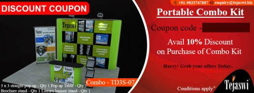 Portable Exhibition Combo Kit- TD3S-07
