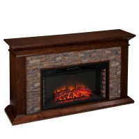 "60"" Canyon Heights Simulated Stone Electric Fireplace - FE9023"