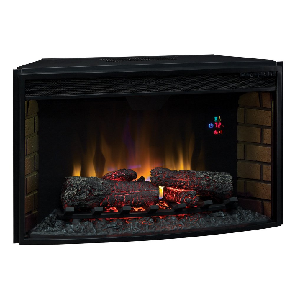 32 ClassicFlame Spectrafire Curved Electric Fireplace