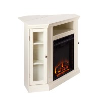 "48"" Claremont Convertible Media Electric Fireplace - Ivory ..."
