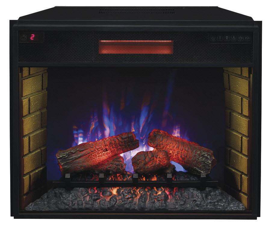 28 Spectrafire Infrared Quartz Electric Fireplace Insert